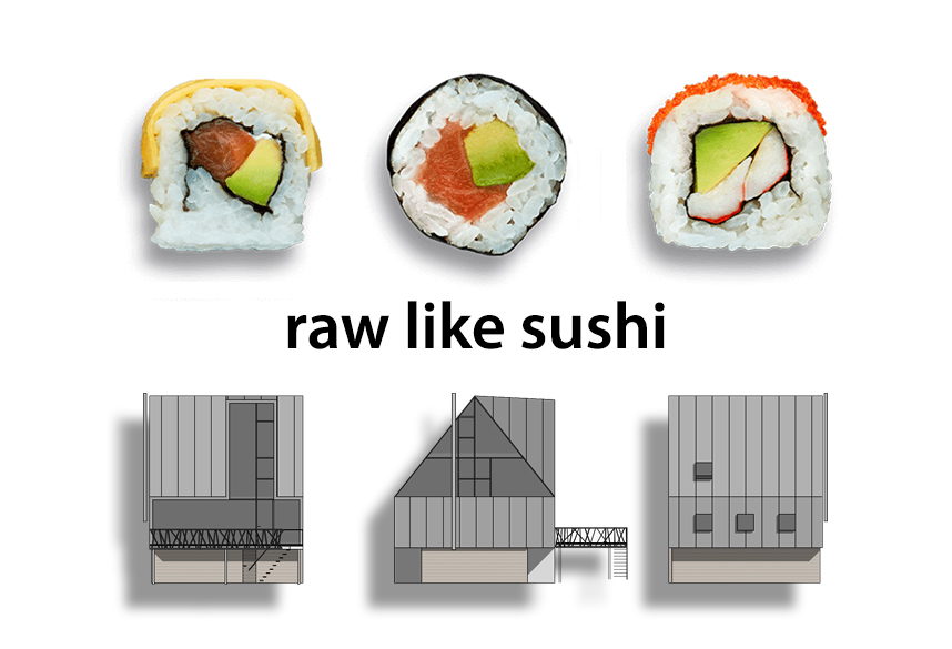 Raw like sushi klein